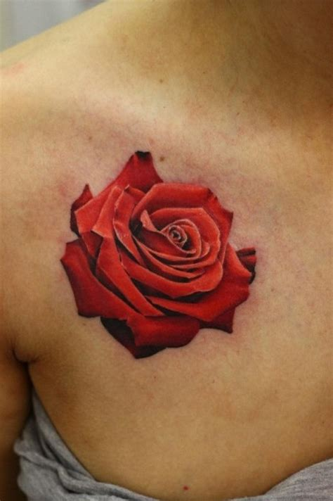 realistic flower tattoo the best flower tattoos part 2