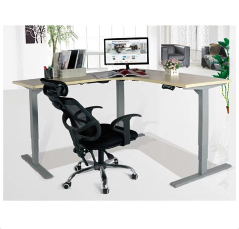 Adjustable Table L Dvs Electric L Shaped Adjustable Table Decor Viz System