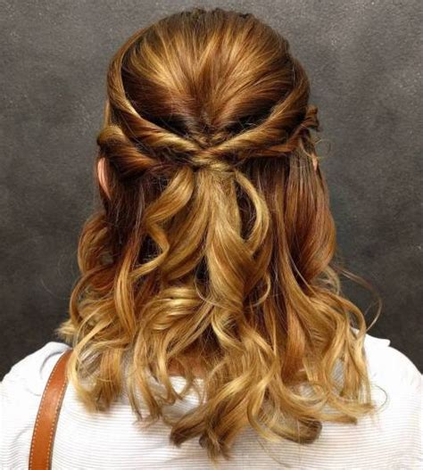Twisted Hairstyles For Hair by 60 Easy Updo Hairstyles For Medium Length Hair In 2018