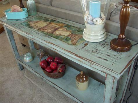 wood sofa table shabby cottage chic furniture