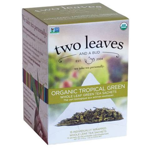 two leaves and a bud inc organic tropical green tea - Two Leaves Tea Where To Buy In Canada