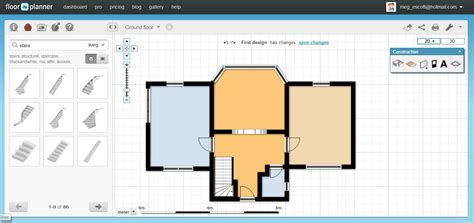 free online blueprint maker 2d floor plan maker free thefloors co