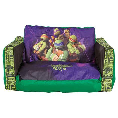 ninja turtle sofa chair teenage mutant ninja turtles flip out sofa bed new