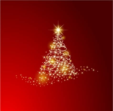 christmas tree background logo vector ai free download
