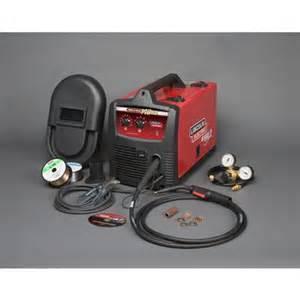home depot welder lincoln electric weld pak 140hd wire feed welder home