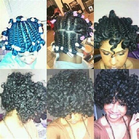 cold wave rods hair styles pin by how to go natural with your hair on protective