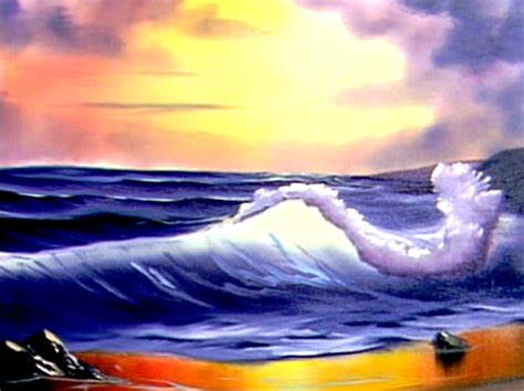 bob ross painting waves bob ross paintings www pixshark images