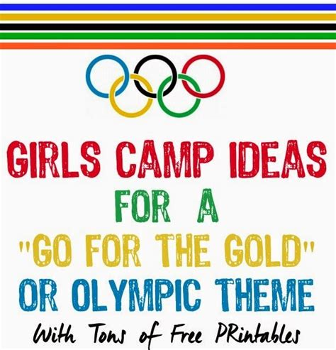 Goes For The Gold by C Ideas Go For The Gold Olympic Theme Play