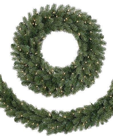 pre lit led classic noble fir wreath giveaway