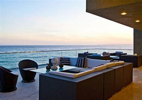 moderne außenleuchten terrasse design beleuchtung