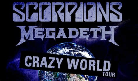 scorpions tickets scorpions concert tickets tour dates scorpions megadeth tour dates officially announced