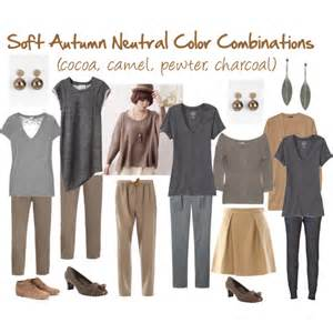 neutral colors clothing soft autumn neutral color combinations polyvore