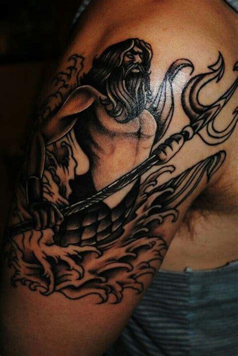 eneko tattoo instagram poseidon tattoo by chriscollinstattoo tattoo