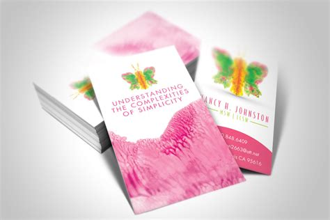 Business Card Templates For Psychologists by Business Card Design In Pasadena California Graphic