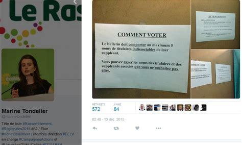 le bureau henin beaumont h 233 nin beaumont des consignes trompeuses pour aider 224 voter