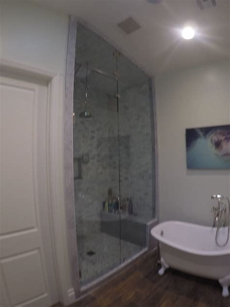Large Glass Shower Ten Foot Steam Shower Glass Patriot Glass And