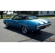 1970 Chevelle Convertible Project Car For Sale On