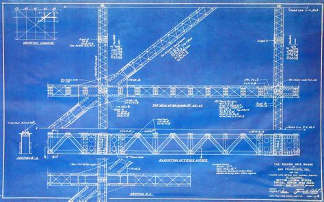 blueprint designer arader galleries blueprints of a landmark
