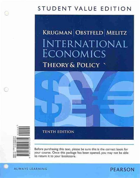 International Economics 1 international economics by krugman paul r obstfeld maurice melitz marc 133425738 ebay