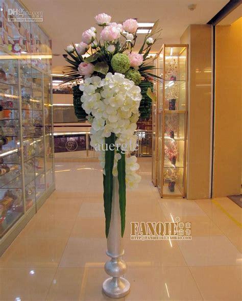 fashion large floor vase set artificial flower simple