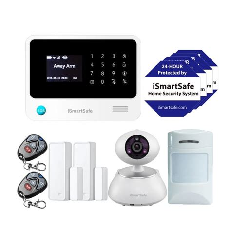 home security system economy package ismartsafe