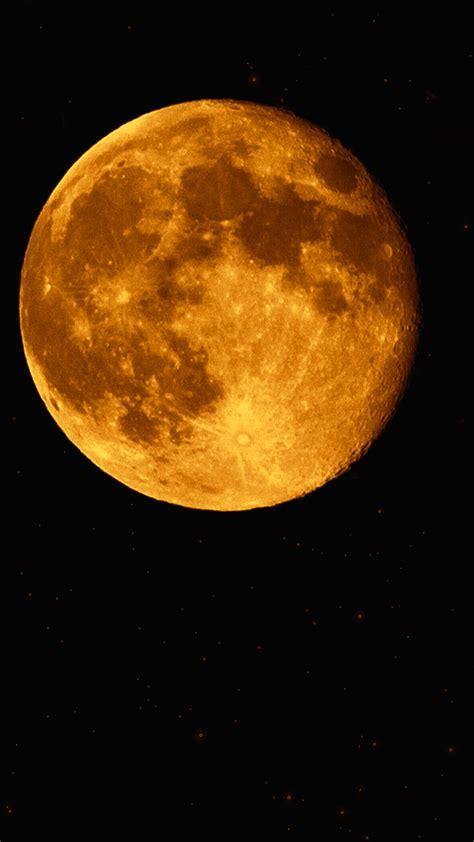 Super Moon HD Wallpaper For Your Mobile Phone