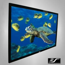 Fixed Frame Screen 84 Inci product elite ez frame series 84 quot fixed frame 16 9