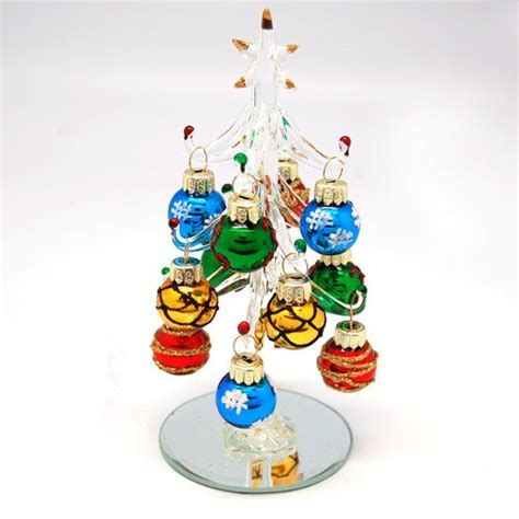 28 best small glass christmas trees hand blown art