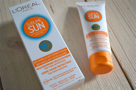 Sunlight L Reviews review l oreal sublime sun spf 50 gezicht la viesagista