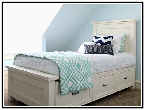 l for headboard twin bed with drawers underneath and headboard 14700