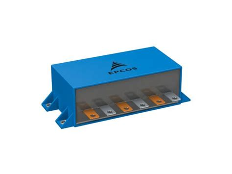 dc link capacitor for inverter low esl in dc link capacitor for new igbt modules edn