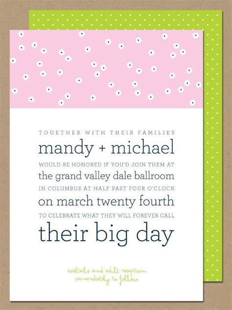 wedding invitation cute fun wording the weds