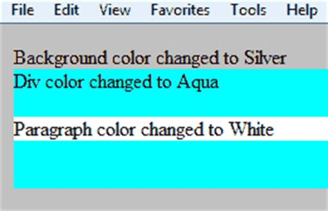 html div color specify a colors in css css background color foreground
