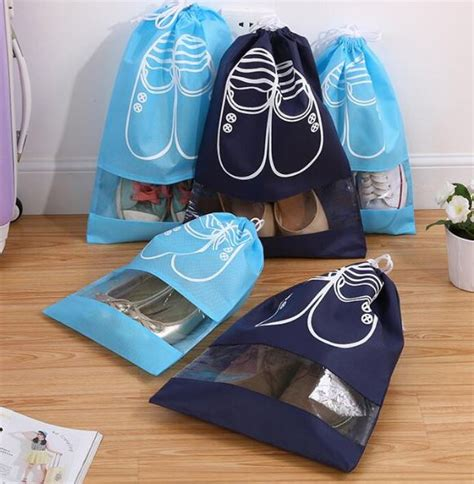 shoe storage bags uk waterproof travel shoe storage bags available in 2 sizes