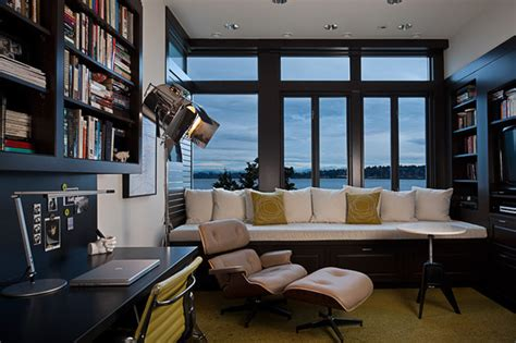 building a home office art house office modern home office seattle by