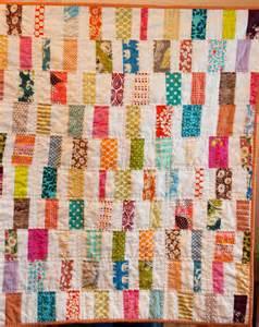 craftyblossom scrappy bar quilt