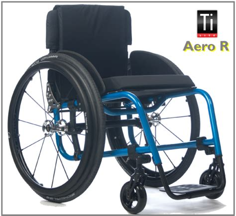Wheel Chair R by Tilite Aero R Aluminum Wheelchair With Stationary Front