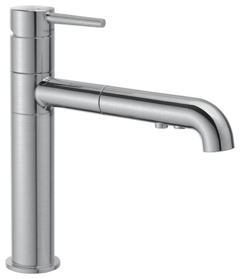 delta faucet 4159 trinsic single handle pull out sprayer delta single handle pull out kitchen faucet 4159 ar dst