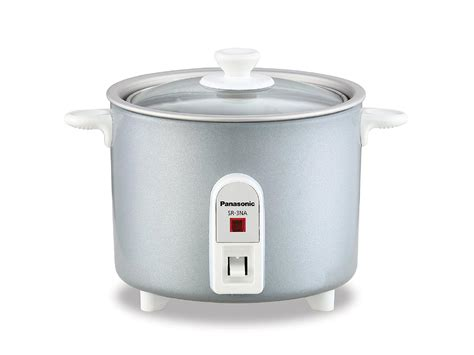 Rice Cooker 1 panasonic sr 3nal 1 5 cup automatic rice cooker silver kitchen dining