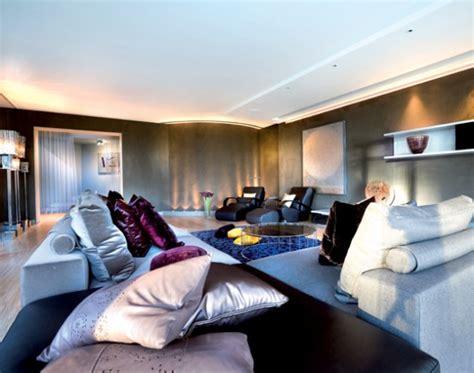 modern glamour home design glamorous living room