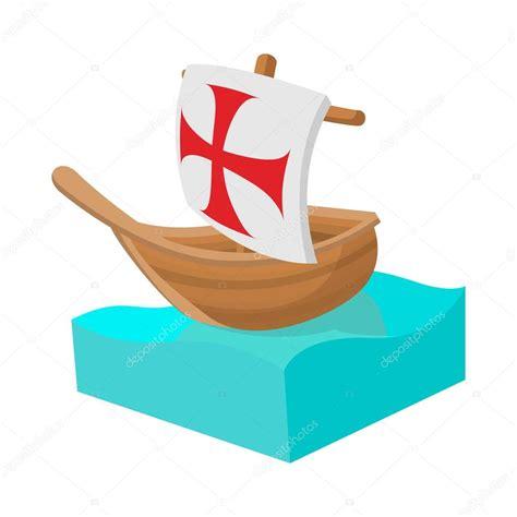 barcos animados de cristobal colon barcos de colon carabelas que us cristbal coln en muelles