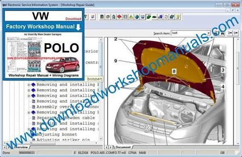 small engine repair manuals free download 1989 volkswagen type 2 lane departure warning vw polo workshop manual
