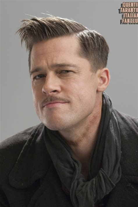 brad pitt inglorious haircut brad pitt inglorious bastards hairstyles pinterest