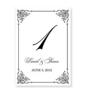 table numbers wedding template instant wedding table number template by 43lucy