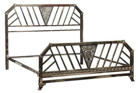 art deco beds chrome art deco king size bed modernism