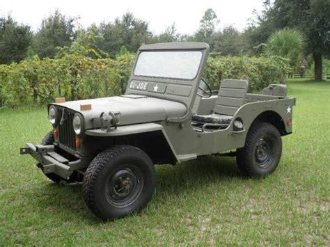 mash jeep willys 1951 m38 military jeep classic jeep other 1951