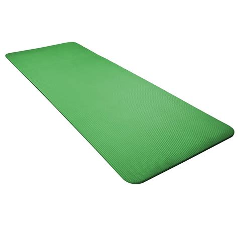 Mat Thick by 8mm Non Slip Exercise Sport Fitness Pilates Workout