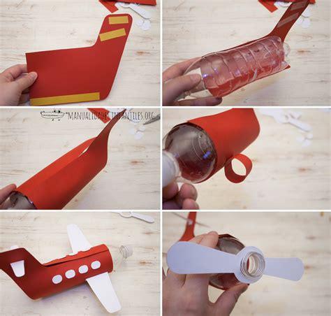como hacer un avion de material reciclable como hacer un avion con botella como hacer un avi 243 n