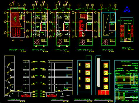 Free Apartment Plans Cad Files Floor Plan Living In Autocad Drawing Bibliocad