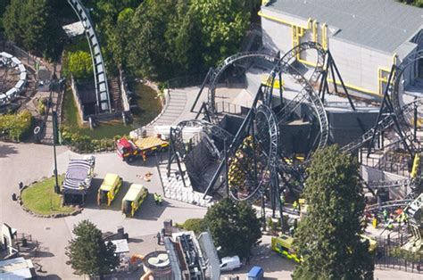 theme park uk accidents chessington and thorpe park close rides in wake of horror
